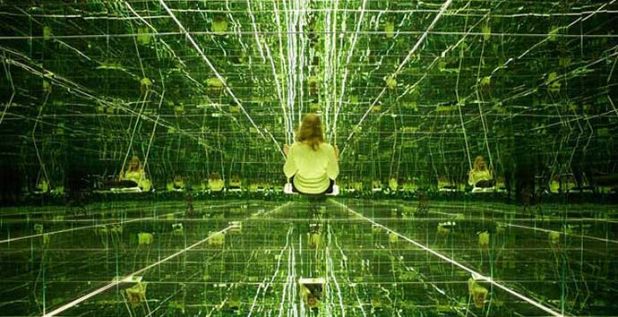 Infinity, Thilo Frank's mirrored room http://goo.gl/3obg3b