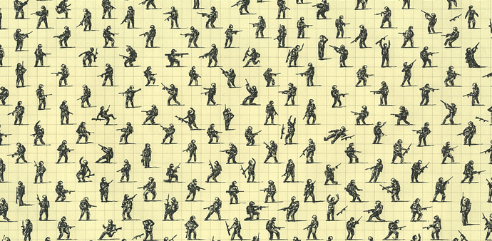 Repetition drawings, Antoine Desailly http://goo.gl/Mg1ygd