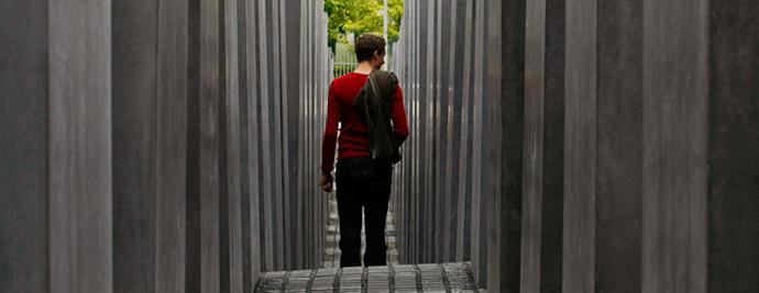 Berlin, Spomenik ubijenim Jevrejima Evrope http://goo.gl/eH0oB4