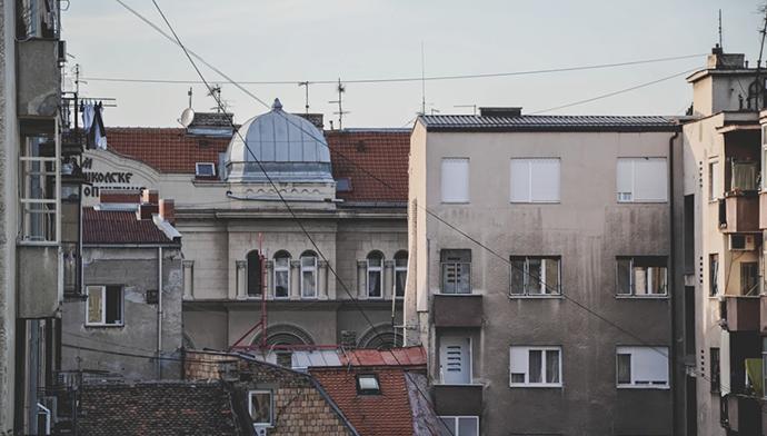 Fotografije čitateljki, Ivana Karić, Beogradski krovovi