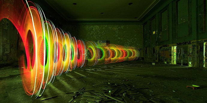 Light art photography by JanLeonardo http://goo.gl/xCA35k