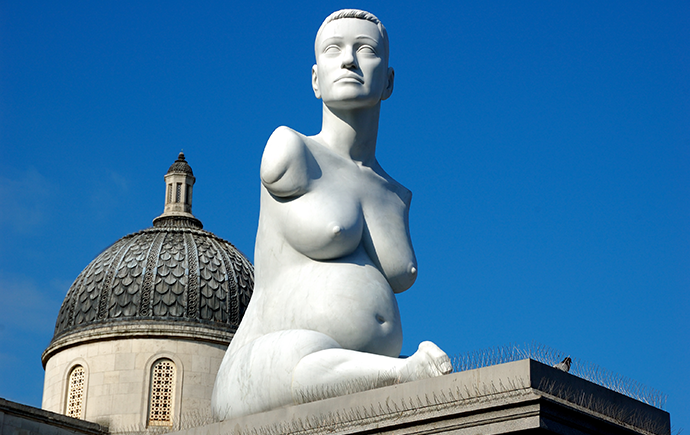 Marc Quin, Alison Lapper Pregnant, Trafalgar Square, London