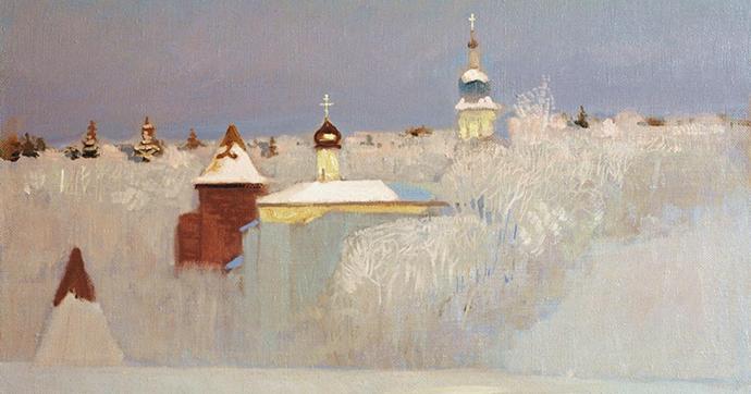 Nikolai Anokhin. Russian winter