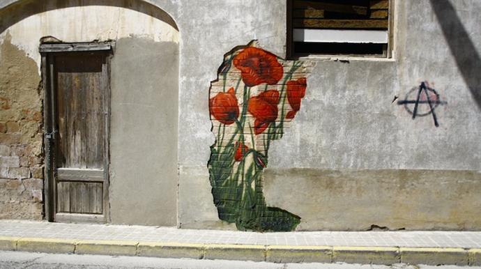 Swen Schmitz – Ivars d'Urgell, Catalonia; Street Art Utopia http://goo.gl/SxG7hO