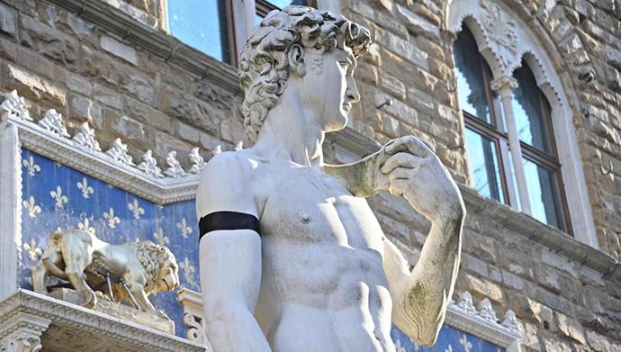 Firenca, Mikelanđelov David © ANSA