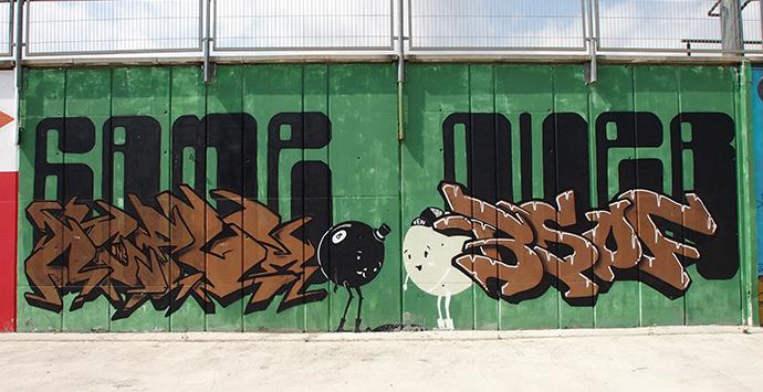 Mural Guinardó Barcelona, Game Over