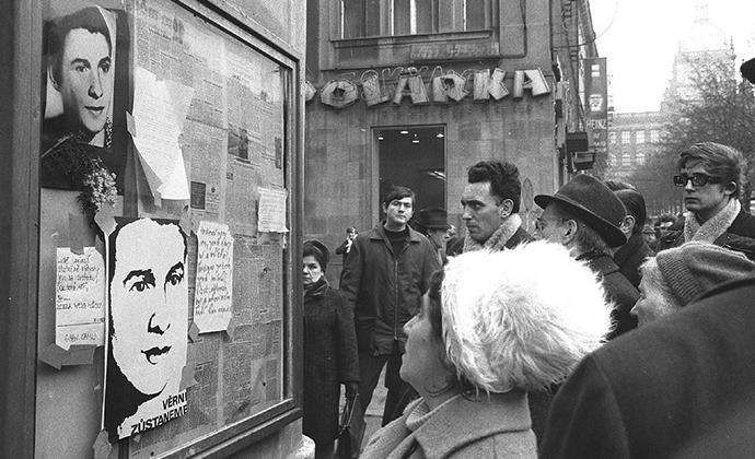 Prag, 24. januar 1969, AFP