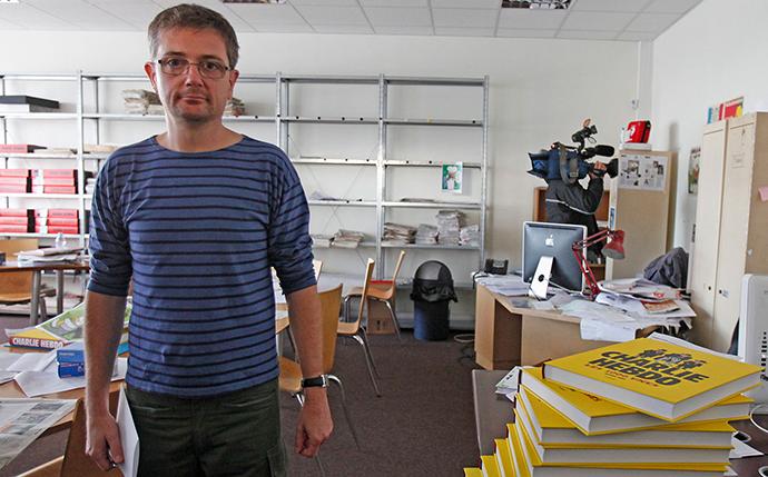 Stéphane Charbonnier Charb, ubijeni urednik nedeljnika Charlie Hebdo