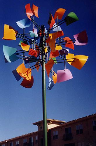 Windsong III, Sculpture by Robert Mangold, Museum of Outdoor Arts