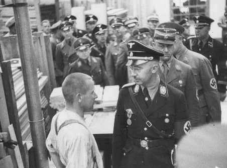 Himmler in Dachau