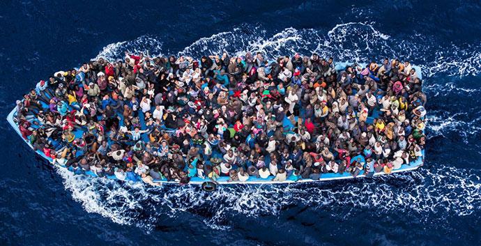 Azilanti, foto: Massimo Sestini/Polaris, Daily News
