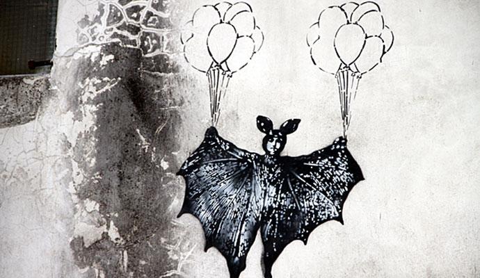 Bat Art, Flickr