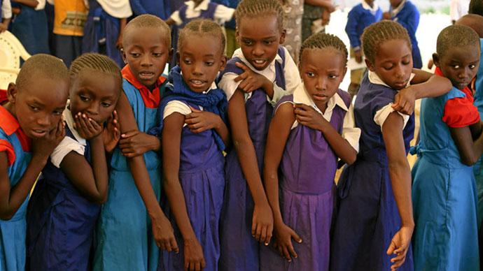 Ruanda, foto: Karel Prinsloo, GAVI/EPA