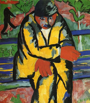Kazimir Malevich, На бульваре / Na bulevaru