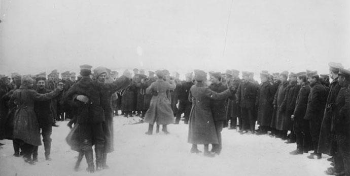 Ruski i nemački vojnici 1918, imgur