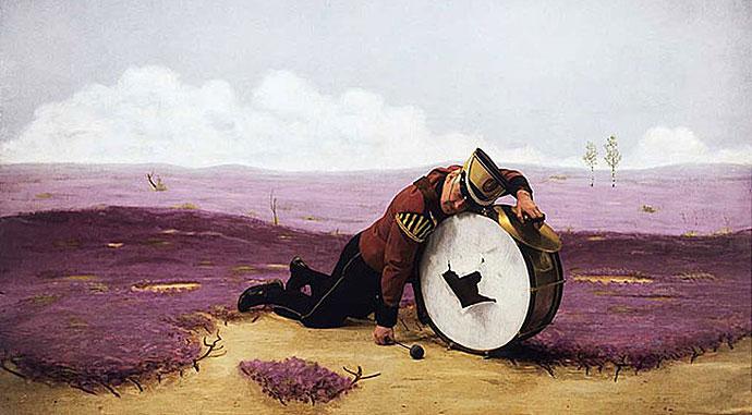 Teun Hocks, The Drummer