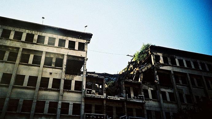 Fotografije čitateljki, Lazara Marinković, Ruševine Beograda