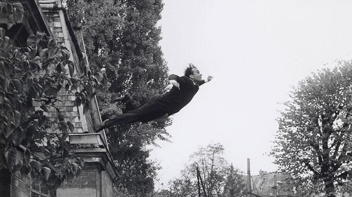 Le Saut dans le Vide, 1960, Yves Klein