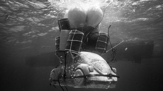 Skulptura Antropocen, Jason deCaires Taylor