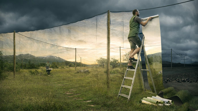 The cover up, Erik Johansson