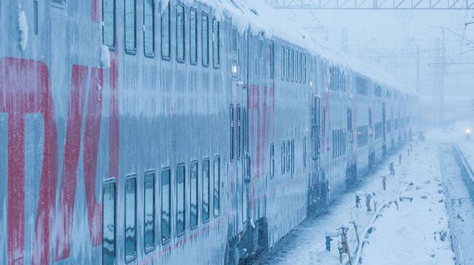 Voz na dva sprata, Moskva-Sankt Petersburg, foto: Dmitry, English Russia