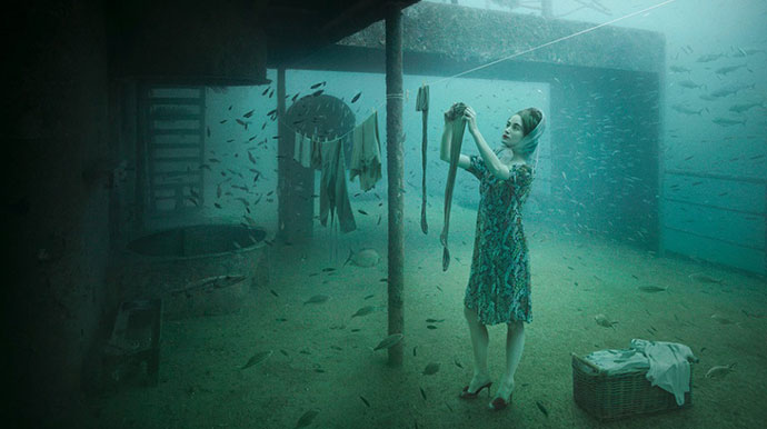 Život ispod vode, Andreas Franke