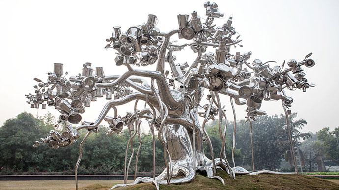 Dada, Subodh Gupta, National Gallery of Modern Art, New Delhi
