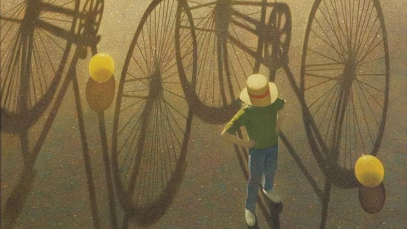 Igra senki: bicikli i baloni, Robert Vickrey