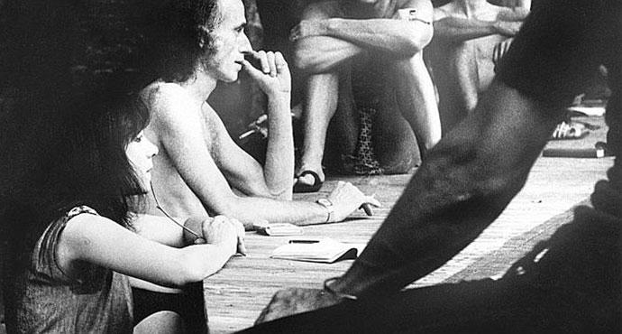 Judith Malina i Julian Beck, Avinjon 1968, foto: AFP