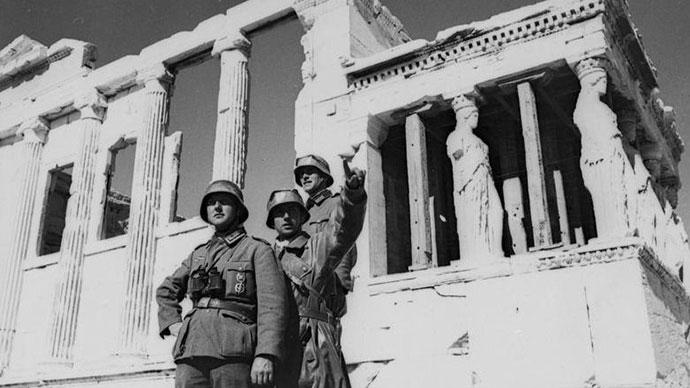 Vojnici Vermahta na Akropolju 1941, Wikipedia