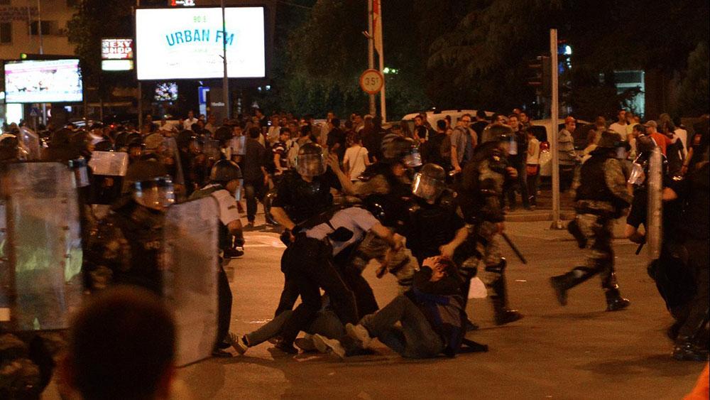 Skopje protests 2015, LeftEast, photo by Kire Galevski