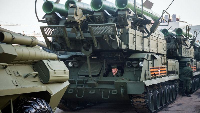 Vojna parada u Moskvi 2015, foto: English Russia, Ilya Varlamov aka blogger zyalt