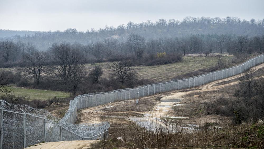 Zid na bugarsko-turskoj granici, Andrew Testa - New York Times