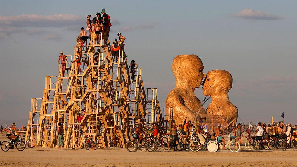 Burning man festival, Nevada, foto: Reuters
