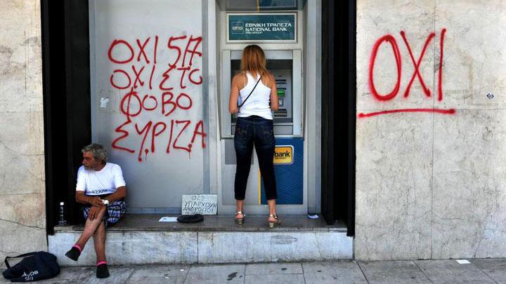 Dan posle referenduma, Grčka, foto: Sakis Mitrolidis/AFP