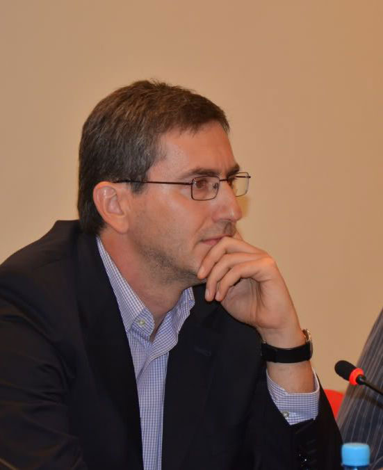 Hasan Nuhanović. Snimak iz 2012. Media centar - Sarajevo