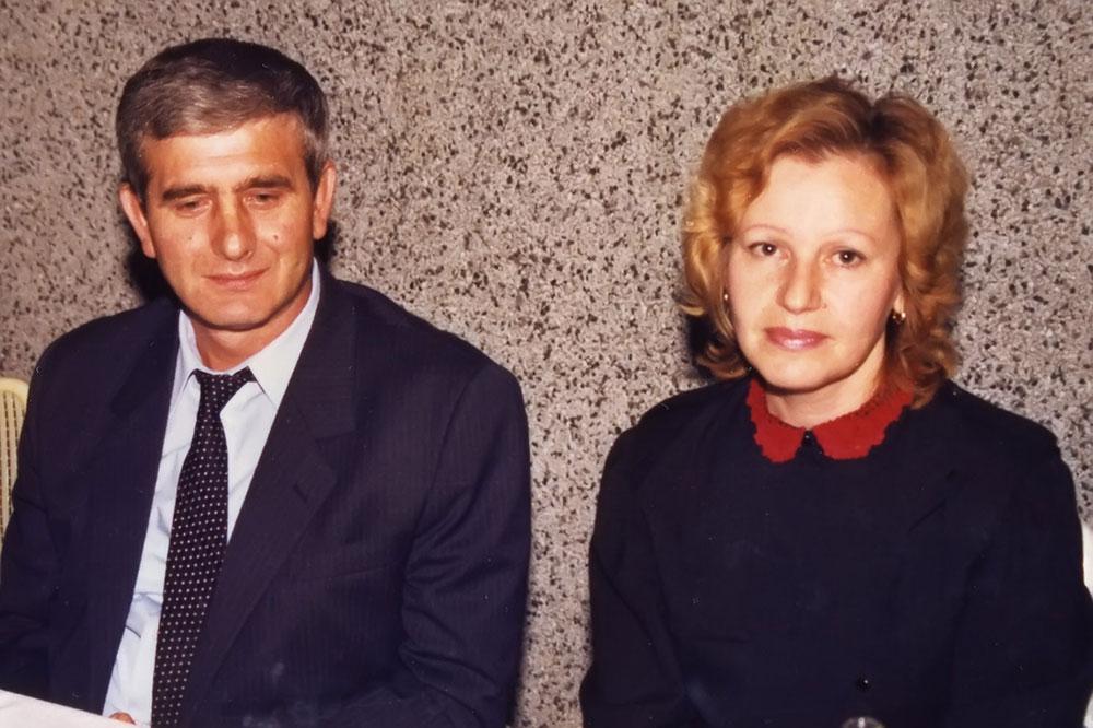 Ibro i Nasiha Nuhanović. Septembar 1987. Porodična arhiva.