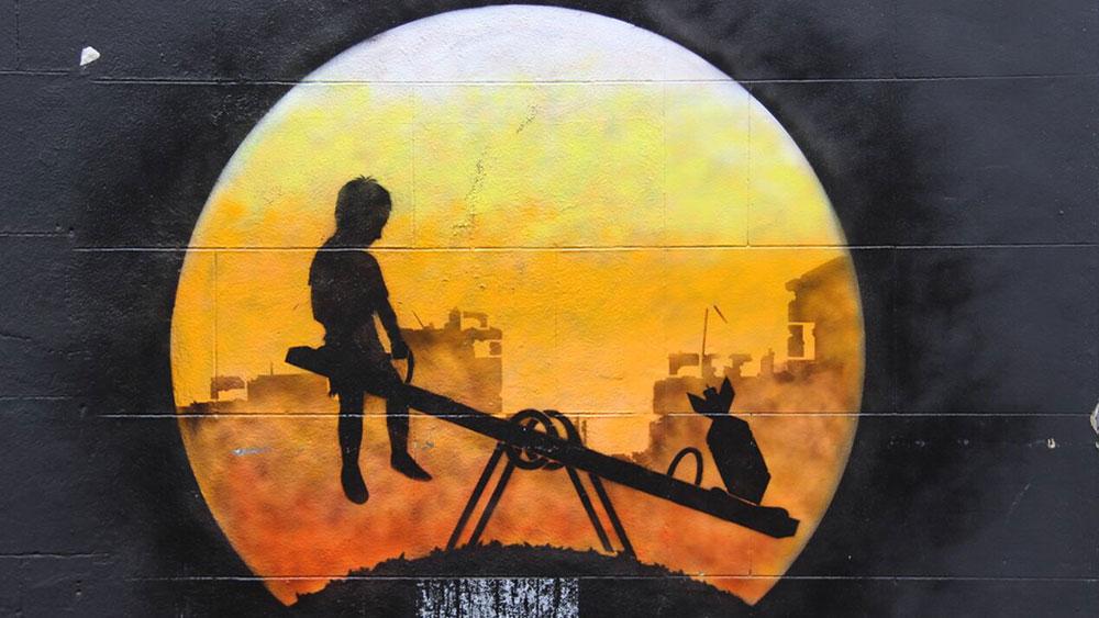 Fotografije čitateljki, Miljana Radivojević, East London street art