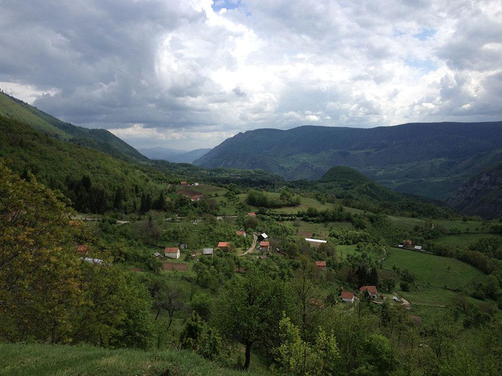 Pogled na Žepu. Snimak iz 2012. Snimio B. Kontić