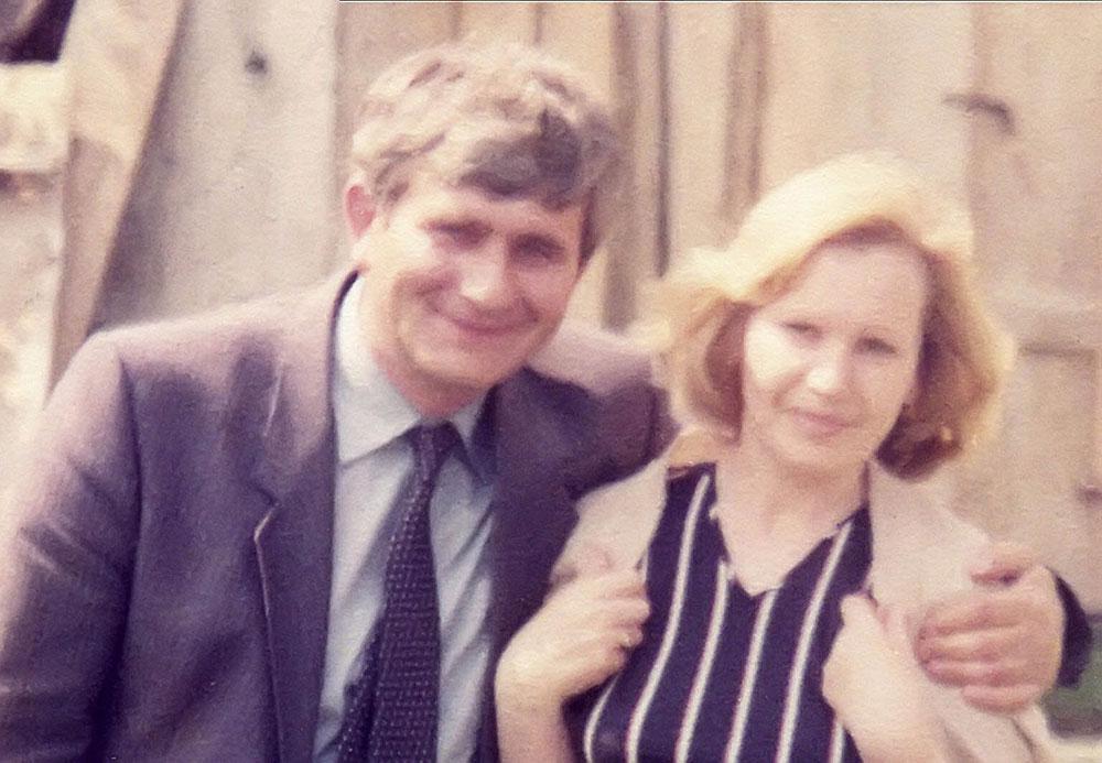 Roditelji Hasana Nuhanovića. Ibro i Nasiha. Početak 1980-ih. Porodična arhiva.