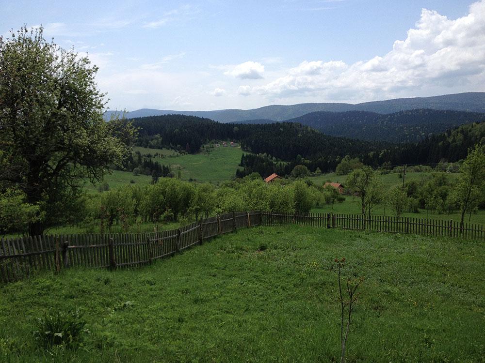 Stoborani. Selo u Istočnoj Bosni. Snimak iz 2012. Snimio B. Kontić