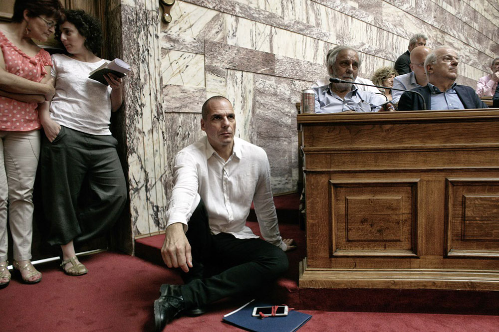 Yanis Varoufakis, foto: Milos Bicanski, Getty Images