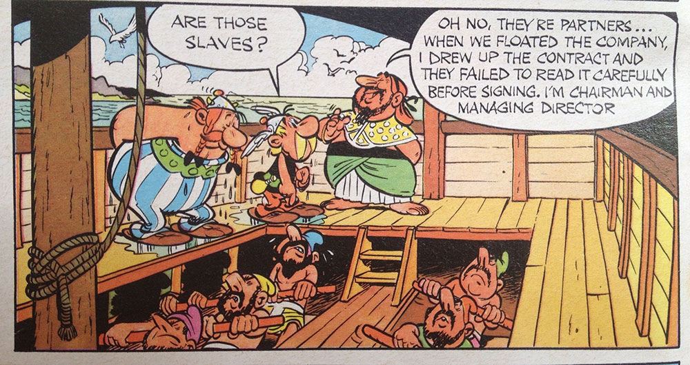 Asterix the Gladiator, Goscinny and Uderzo, Knight Books 1976