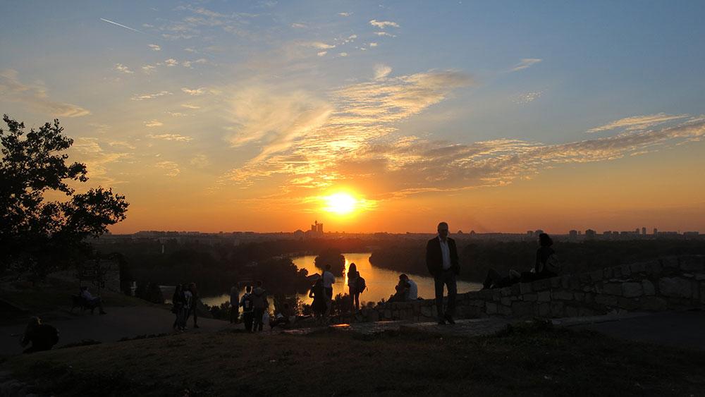 Fotografije čitalaca, Roger Cowan, Belgrade sunset
