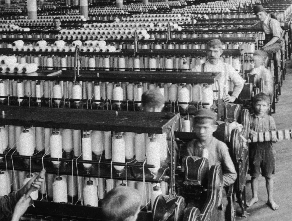 Olympian Cotton Mills, Columbia, South Carolina, 1905, Hulton Archive/Getty Images