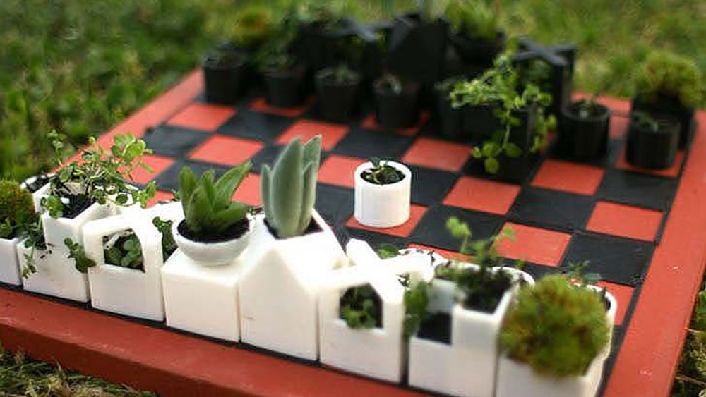 3D-Printed Planters, XYZ Workshop
