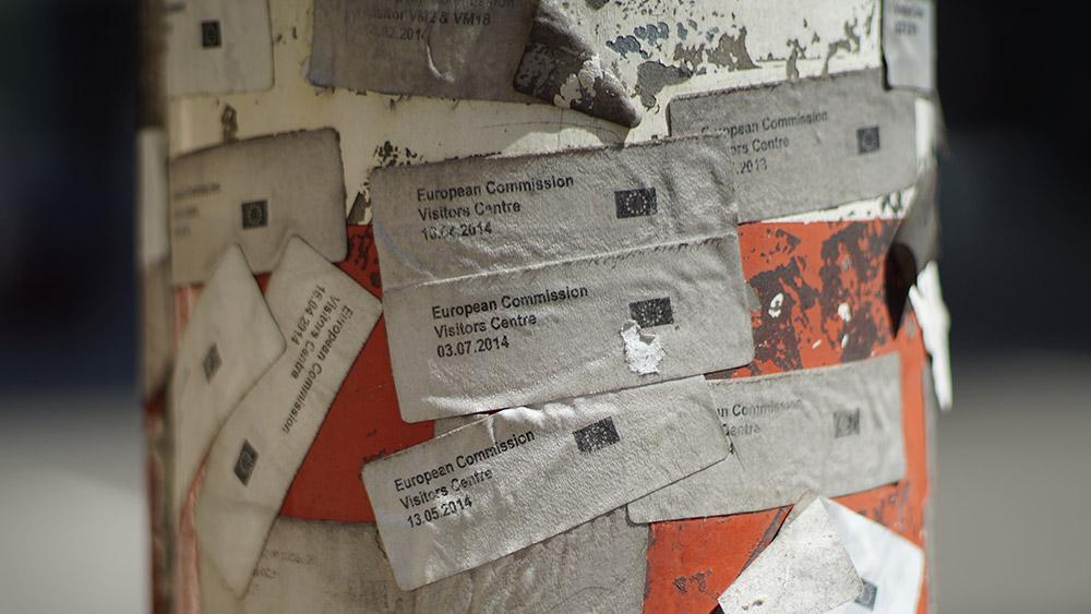 Brisel, stub ispred Evropske komisije, fotografije čitateljki: Neda Radulović-Viswanatha