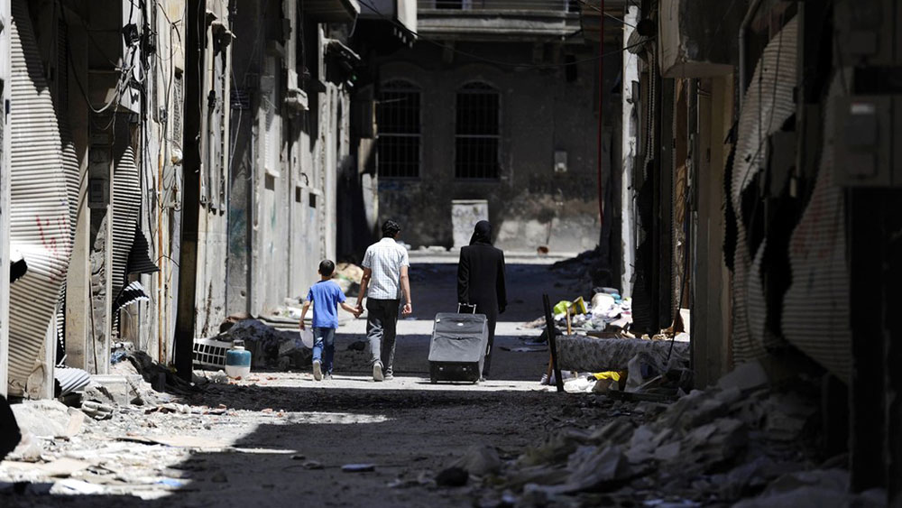 Homs, Sirija, foto: Reuters/Omar Sanadiki