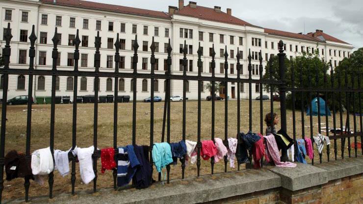 Izbeglički centar u Austriji, foto: Reuters