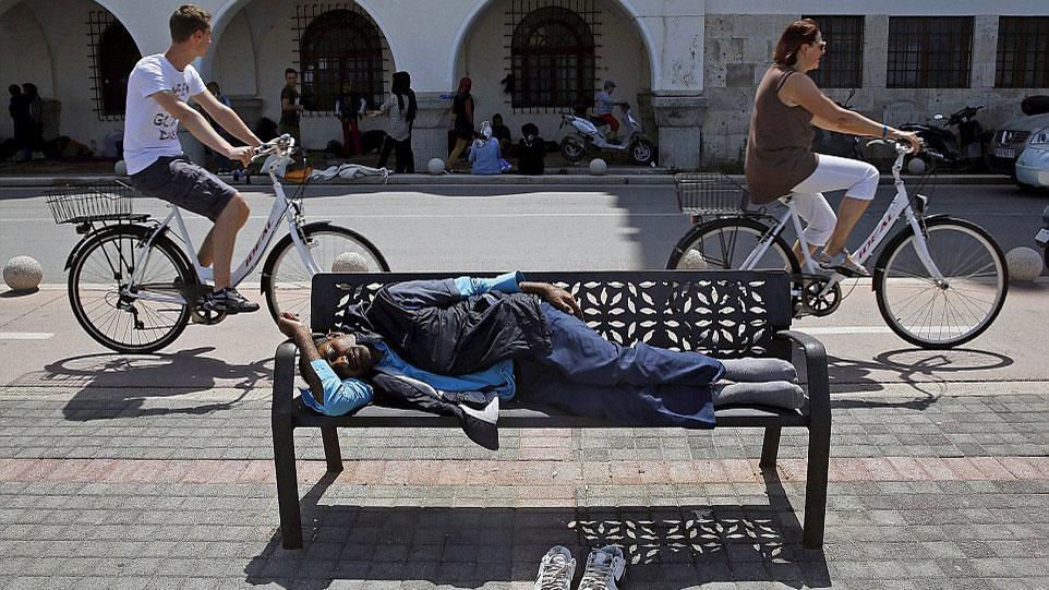 Migrant iz Avganistana, Kos, Grčka, foto: Yannis Behrakis/Reuters